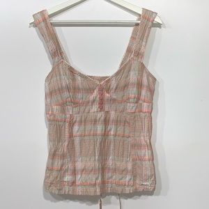 Free People Retro Bustier Corset Style Top